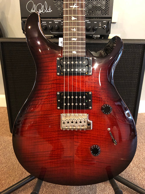 Custom 24 SE Red Fire Burst