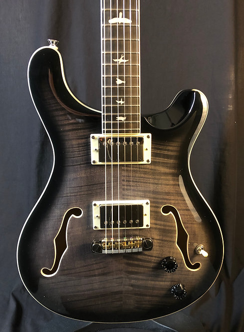 Paul Reed Smith SE Hollowbody II 2020 Charcoal Burst