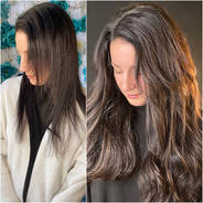 Extensions beaded weft