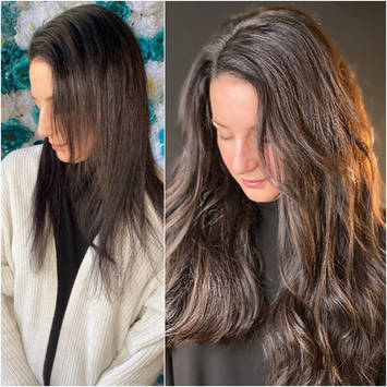 Hand tied weft hair extension near me