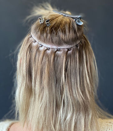 Natural Beaded Row Extensions  (NBR Method)