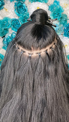 Beaded Weft / Hand-Tied/ SKW 1& 2 / Invisible Row
