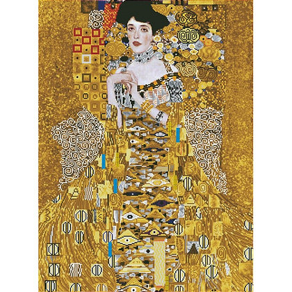 Woman In Gold - Klimt (Diamond Painting)