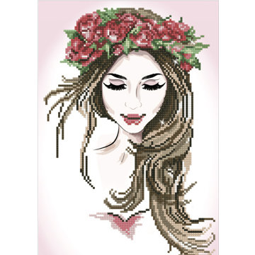 Garland Beauty (Diamond Painting)