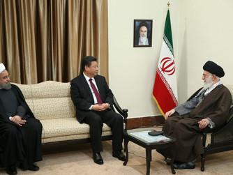 איראן מושיטה לסין יד, אך היא מפנה כתף קרה