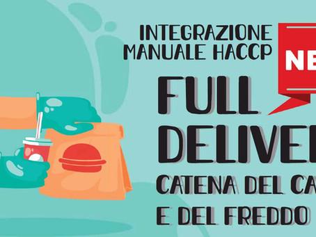 FULL DELIVERY - Integrazione Manuale HACCP (catena del freddo e del caldo)