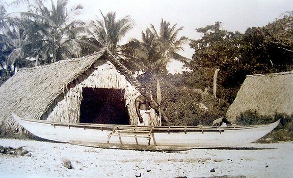Traditional Banaban Outrigger