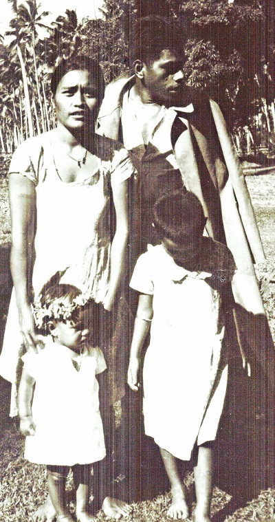 Arthur Mercer's Banaban friend, Kaintong, Rabi, Fiji 1947