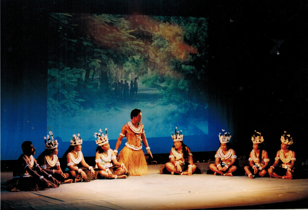 Storytelling and retelling of historical events still performed in Banaban dance today. Banaban Dance Tour Japan 1997