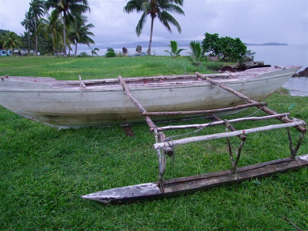 Banaban Outrigger Canoes