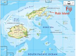 Rabi location Fiji