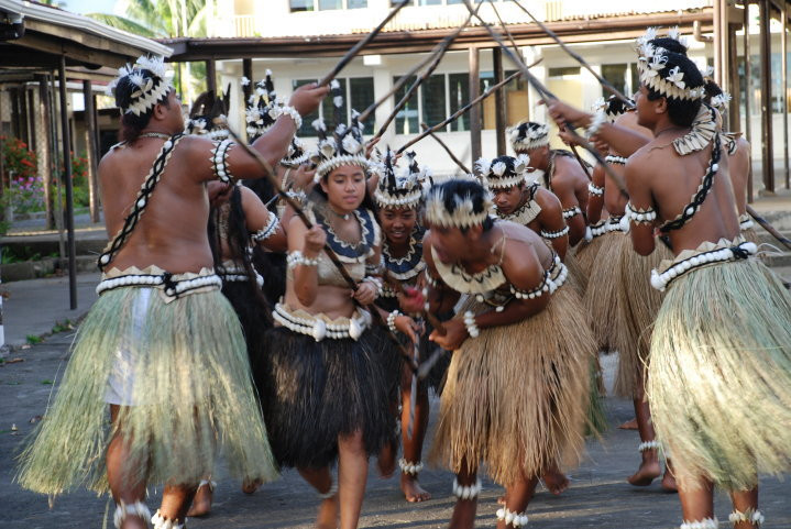 The tradition of te Karanga dance lives on Suva, Fiji 2012