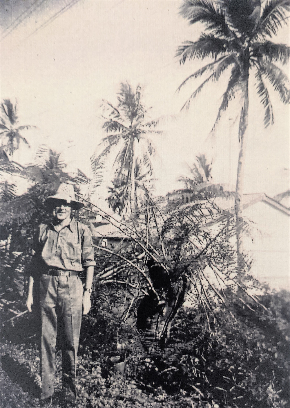 Uniform of Ocean Island Defence Force WWII