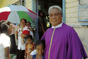 Father Ipolito first Banaban Catholic pr