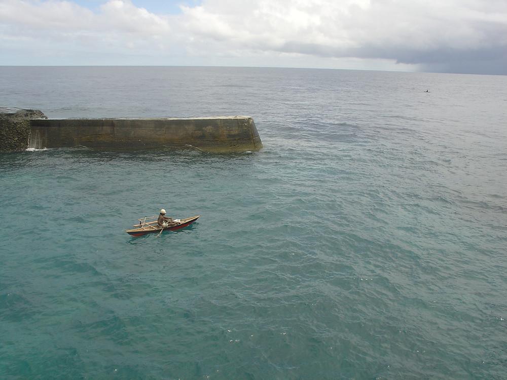 Banaba traditional fishing Ocean Island and Rabi Island