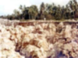 Mined out Te Aka site Banaba