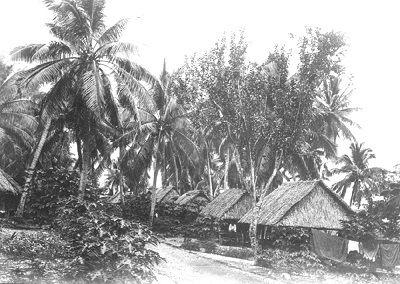 Tabwewa Village Banaba 1930s