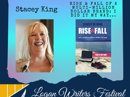 Stacey M King Guest Speaker, Logan Writers Festival