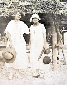 Ella Williams, great grandmother Author, Stacey King, Ocean Island early 1900s