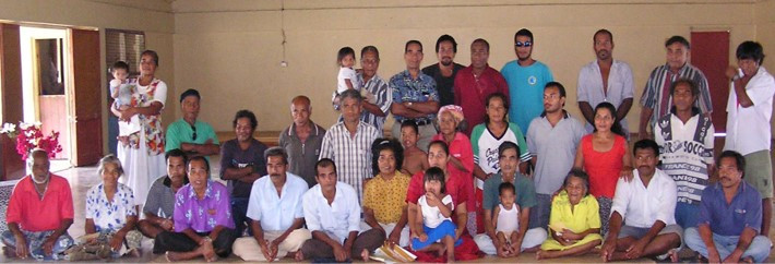 Banaban Traditional Landowners living on Rabi, Fiji 2003