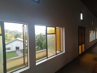 View overlooking the church manaeaba at