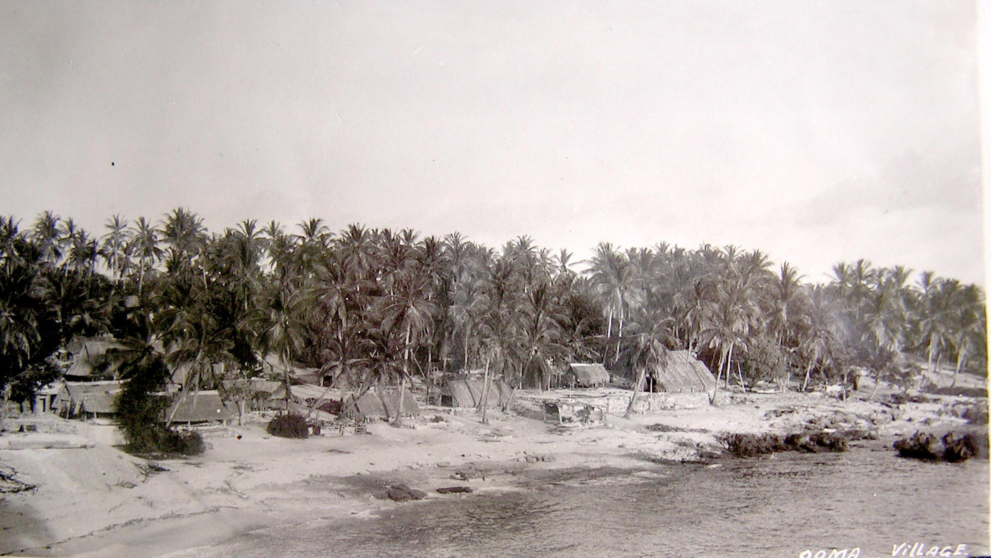 Old Banaban Villages