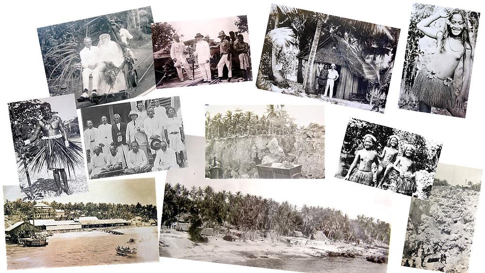 John Francis Williams Ocean Island photographic collection 1901-1931