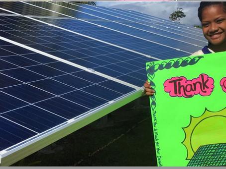 Renewable Energy Rabi Island, Fiji