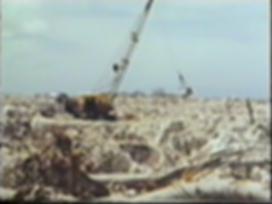 Phosphate mining on Banaba 1970s