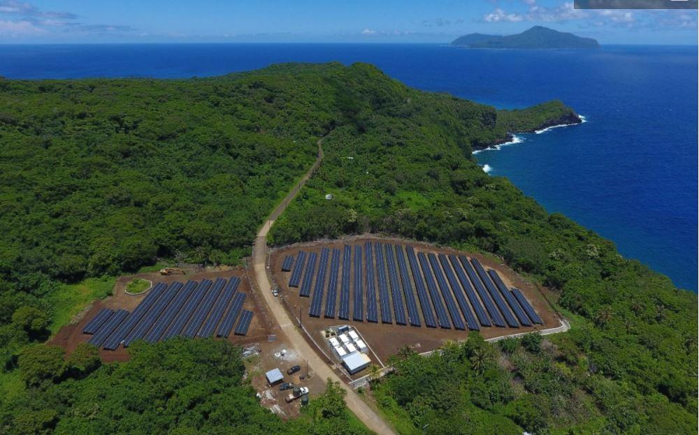 SolarCity project Ta'u Island American Samoa