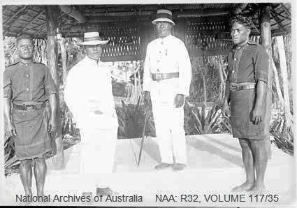 Eri, Elder from Uma village, Ocean Island the first Magistrate