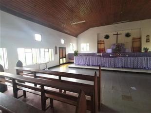 Alter at Methodist Church, Uma, Rabi by