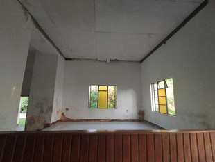 Interior view Methodist Church, Uma, Rab