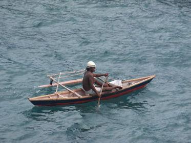 Banaban tewaa traditional canoe