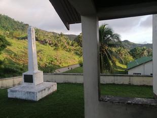 View from Methodist Church, Uma, Rabi by