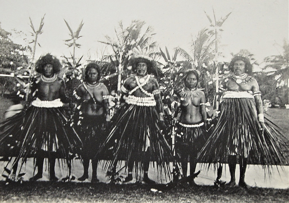 Te Karanga stick-dance unique to the Banabans
