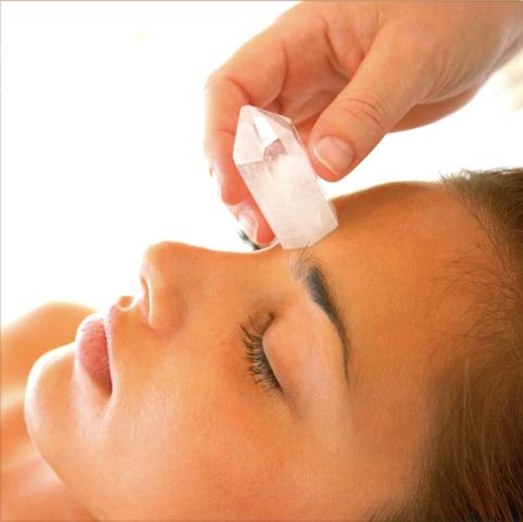Quartz Crystal Massage