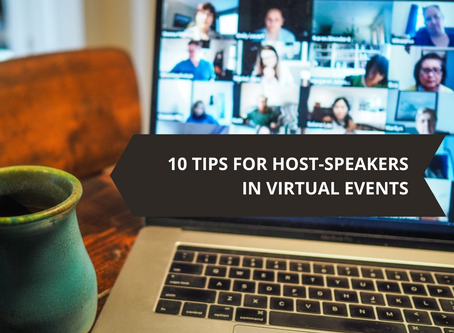 10 tips for host-speakers in virtual events