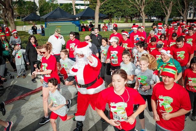 Santa Fun Run 2017