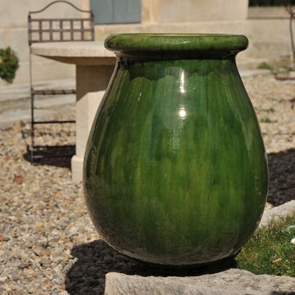 Oil Jar Droplet Shape (70 cm) Green