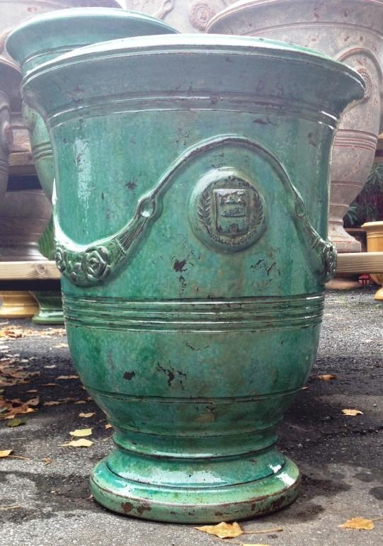 Tradition Anduze Pot Emerald Patina