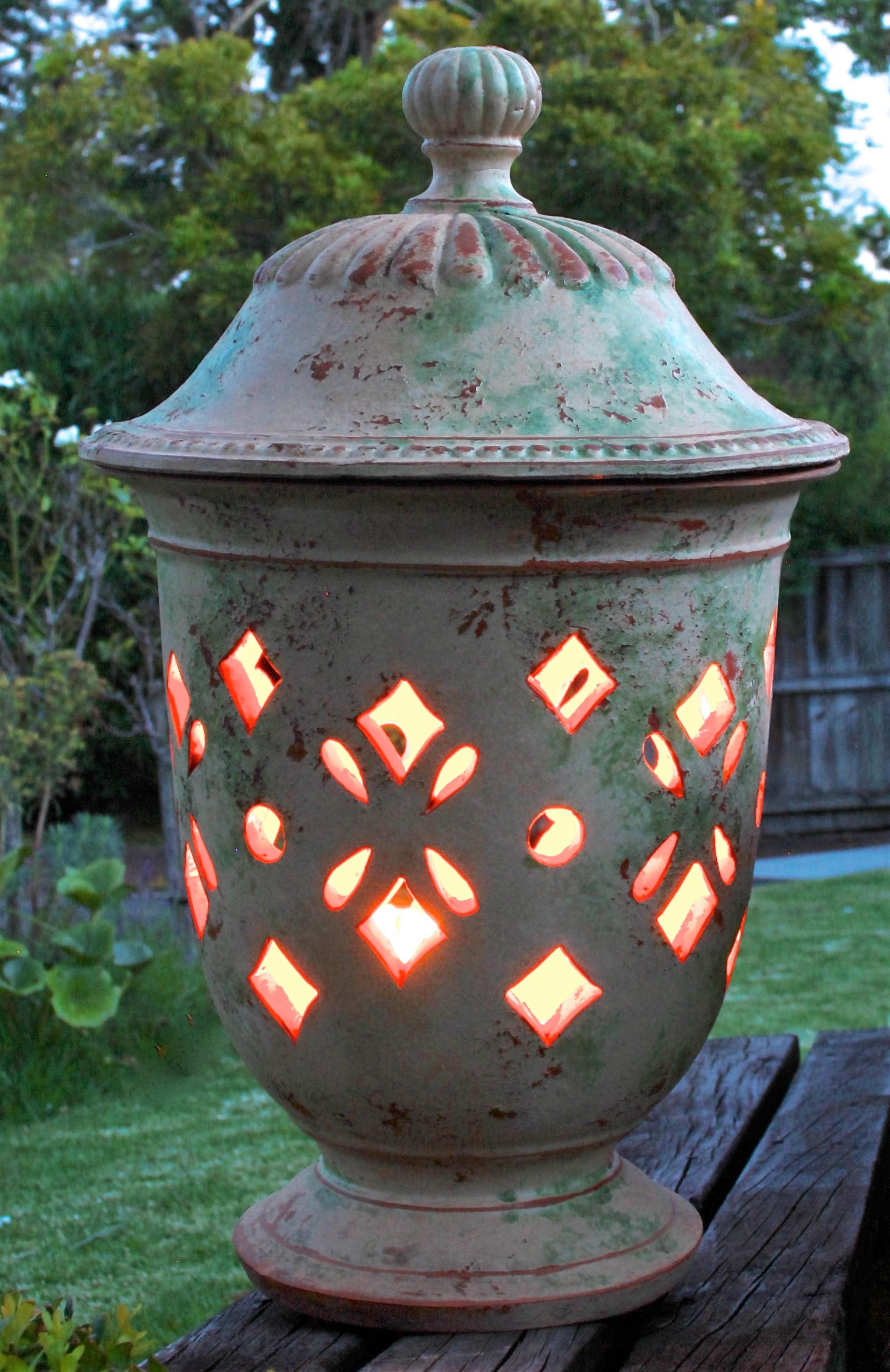 Lantern Pot Patina