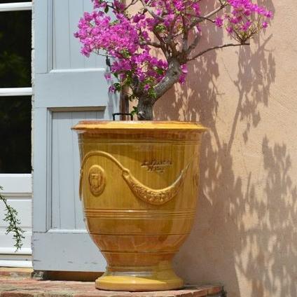 Tradition Anduze Pot Yellow
