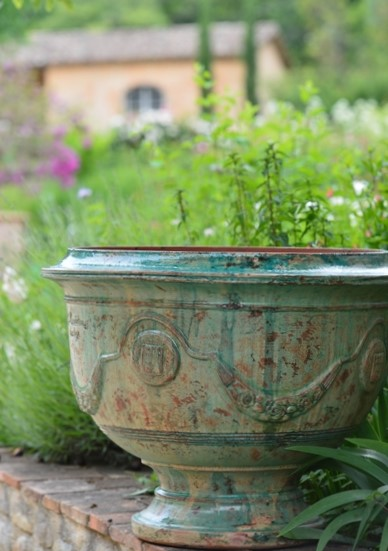 Classical Pot Emerald Patina Bowl
