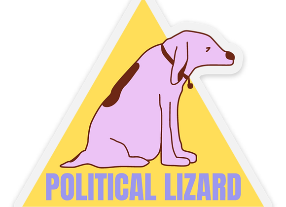 Joy The Dog Sticker