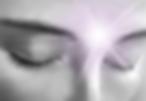 lumière sur le front de la personne
