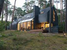 Bliuzo mylėtojo namas. Architektūra