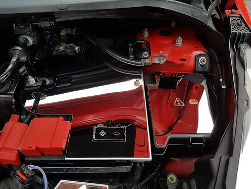 Fiesta Mk7 ST180 polished battery cover