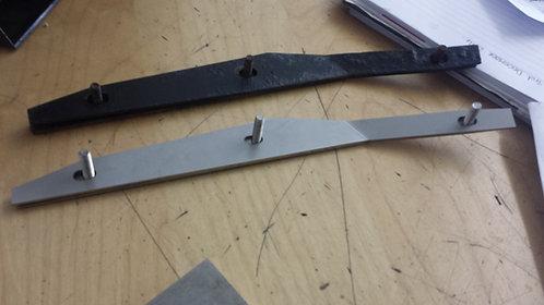 MK 1 FOCUS STAINLESS STEEL BUMPER BRACKETS