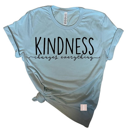 """""""Kindness changes everything"""""""